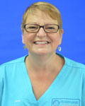 June Hannah, support team at Filham Park Veterinary Clinic