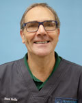 Steve Grills, vet at Filham Park Veterinary Clinic