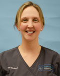 Zoe Rickard, vet at Filham Park Veterinary Clinic